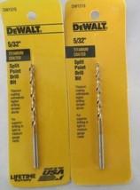 """DEWALT DW1310 5/32"""" Titanium Speed Tip Drill Bit USA (2 Packs) - $3.96"""