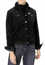 Calvin Klein Jeans Corduroy Fleece-Lined Jacket, Size S, Black, MSRP $168 - $64.34