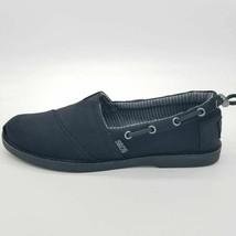 Skechers Bobs Womens Chill Luxe New Light Boat Shoes Black Memory Foam 8... - $35.63