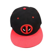Deadpool Baseball Cap Summer Series Peaked Cap Black Type - $19.99