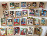 MLB Topps Baseball Cards 694 Total 1974-1989 All Teams A-Y Good-VG Condition Lot