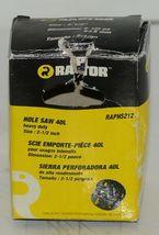 Raptor RAPHS212 Heavy Duty 2 1/2 Inch Hole Saw Bi Metal Edge image 4