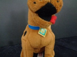 "Scooby Doo Where Are You TY Plush Stuffed Animal beanie Baby 7"" Brown Dog image 2"