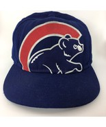 Chicago Cubs Logo Wool Baseball Trucker Hat Cap MLB 59Fifty New Era Size... - $24.49