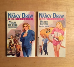 1980s Nancy Drew Files Mystery Books by Carolyn Keene image 9