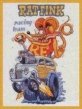 Racing Team Rat Fink Big Daddy Ed Roth Metal Sign - $29.95