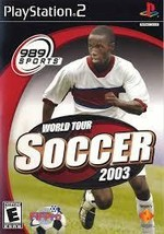 World Tour Soccer 2003 Playstation 2 PS2  Complete CIB - $12.79