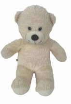 "Build-A-Bear Workshop 14"" Plush Off White Teddy Bear Stuffed Ivory Cream - $24.75"