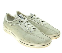 KEDS Womens Tan Center Stripe Stretch Leather Sneakers Size 9 - €14,54 EUR