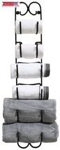 DecoBros Wall Mount Multi-Purpose Towel/Wine/Hat Rack, Bronze - $33.65