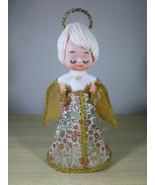 Enchanting Vintage 1960's Figural Angel • Christmas Tree Topper • Made i... - $32.00