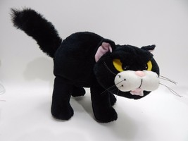 Gibson Greetings 1994 Motion Activated or Press ear Black Cat Halloween ... - $29.69