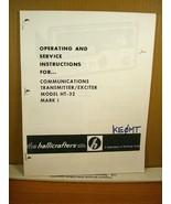 Copy of Manual Communications Transmitter/Exciter Modle HT-32 Mark I Hal... - $8.99