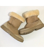 Ugg Ultimate Short Sheep Lined Suede Boots Size 6 - $49.99