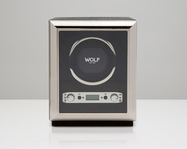 Wolf 2.7 EXOTIC Single Automatic Watch Winder Battery Operated Black NEW - $539.00
