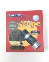 Meade DCS 7 X 18 Golf Scope Monocular - $35.10