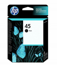 HP 45 Black Ink Cartridge - $42.00