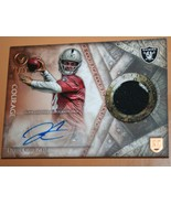 2014 ToPPs DEREK CARR OAKLAND RAIDERS~COURAGE~Certified AUTOGRAPH! 9/50!... - $81.46