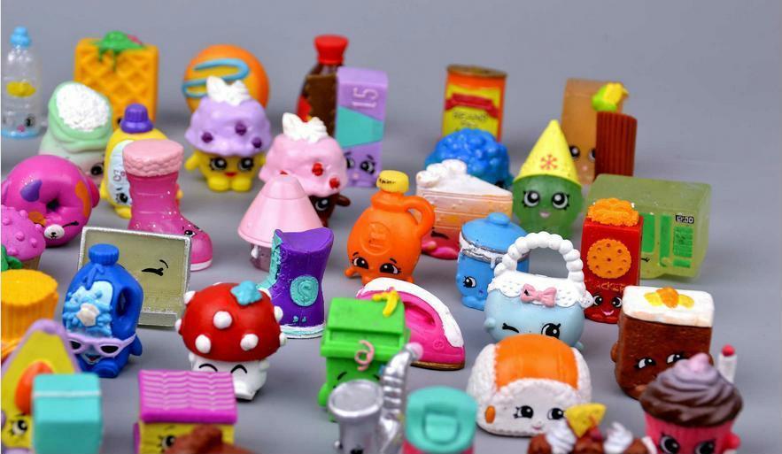 Mini Fruit Figure Toys Children Gift 100 Pieces Action Figures Western Animation image 2