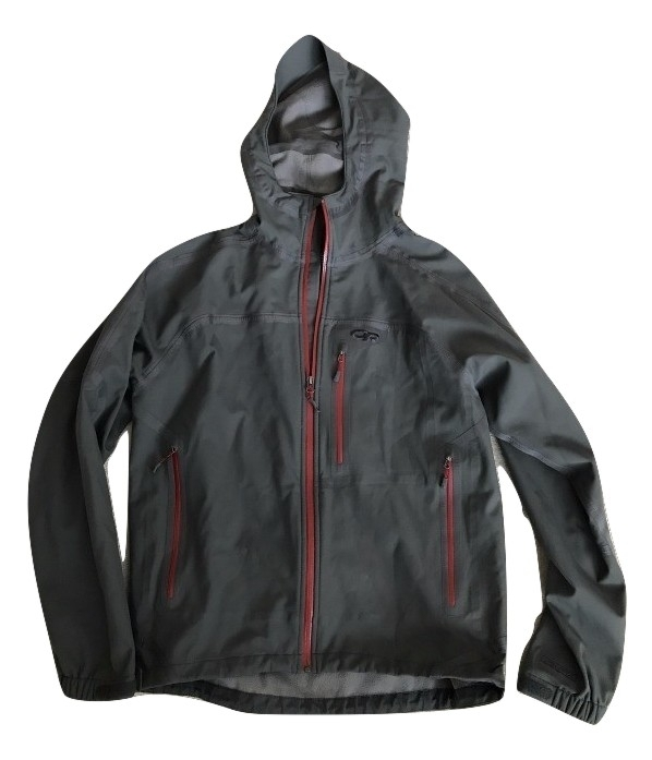 Outdoor research jacket burned