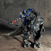 Transformers AOE Optimus Prime Grimlock Tyrannosaurus Dinosaur Rex Statue Figure - $39.99