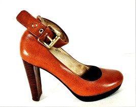 Michael Kors Brown Mary Jane Punps Heels Shoes Women's 7 1/2 M (SW5) - $62.29