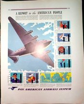 Pan American Airways & South Bend Lathe Advertisements from 1941 Fortune... - $12.99