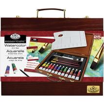 essentials(TM) Wooden Box Art Set-Watercolor Painting 25/Pkg - $56.98
