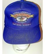 OOAK Rare Signed Al Unser Sr Bobby Unser Signed Autographed Hat NADA 1992  - $98.95