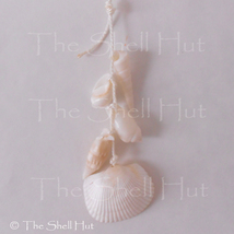 Beach Seashell Ornament Shell Wall Garland Christmas Seaside Coastal Beach House image 5