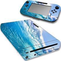 VWAQ Wii U Console Ocean Skin Nintendo Wii U Water Decal Sticker Covers ... - $14.99