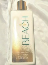 Bath & Body Works à la Plage Corps Lotion Crème Beurre Karité Vitamine E... - $12.14