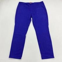 Arizona Jeans Juniors 19 Royal Blue Skinny Slim Fit Cotton Blend Stretch... - $18.95