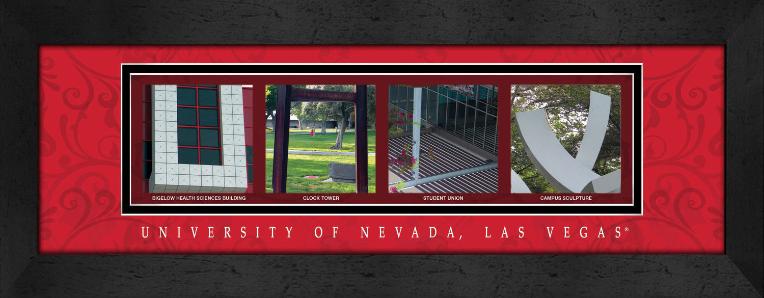 Primary image for University of Nevada Las Vegas Officially Licensed Framed Campus Letter Art