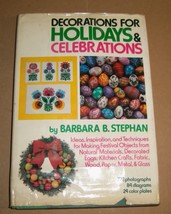 1970's Holiday Craft Book Christmas Easter Ornaments Decorations Gifts R... - $18.95