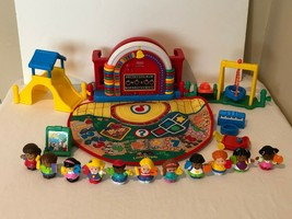 Fisher Price Little People Time To Learn Preschool Playset Counting 1-10 Figures - $49.99