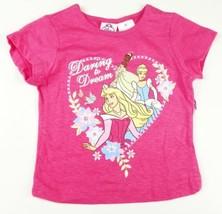 Toddler Girl's Disney Princess Shirt Pink Daring to Dream Tee T-Shirt Cinderella