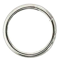 Hilason Western Horse Tack Weld Wire Ring Nickel Plated U-57NP - $7.87+