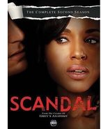 Scandal: The Complete Second Season (DVD, 2013, 5-Disc Set) - $288,97 MXN