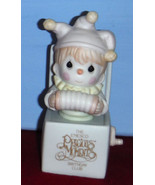 Just Let You Know You're Tops Clown Figurine B0106 Precious Moments Memb... - $14.99