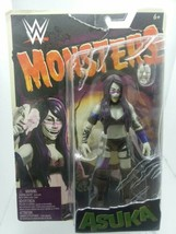 MATTEL~WWE~MONSTERS~ASUKA ACTION FIGURE~WITH MASK~2017 NEW IN PACKAGE - $14.99