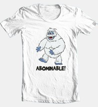 Abominable Snowman T-shirt retro Christmas TV show 80s 100% cotton white tee image 2