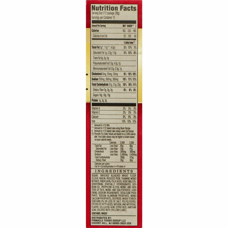 Ducan Hines Signature, Lemon Supreme Cake Mix, 15.25oz Box (Pack of 4)