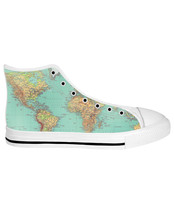 Map White Sole High Tops - $79.99+