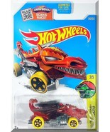 Hot Wheels - Dragon Blaster: Dino Rides #2/5 - #247/250 (2016) *Red Edit... - $3.50