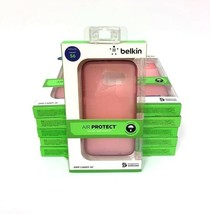 (Lot of 10) Belkin Grip Candy Se Cell Cover Cases for Galaxy S6-Pink New!!! - $25.22