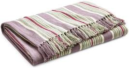 RALPH LAUREN - Notting Hill Northward Stripe Throw Blanket Northward Stripe - $142.99