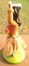 Hula Girl Pink Bikini Dashboard Figurine Hawaii Hawaiianna - $27.72