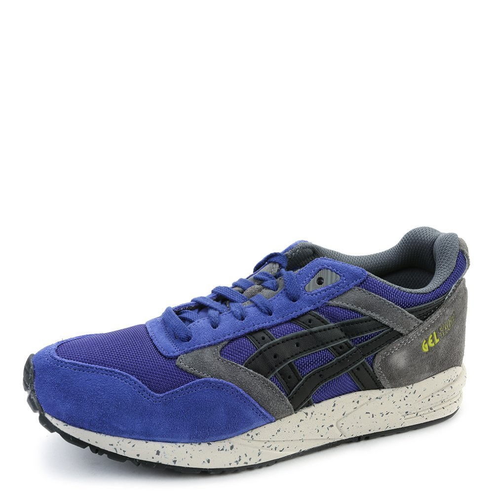 Asics Unisex Gel Saga Sneakers HN510.5290 Dark Blue/Black SZ 6.5 M (US)