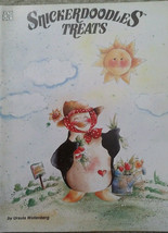 Snickerdoodles Treats By Ursula Wollenberg Sunflowers Garden Tole Painting Book. - $9.98